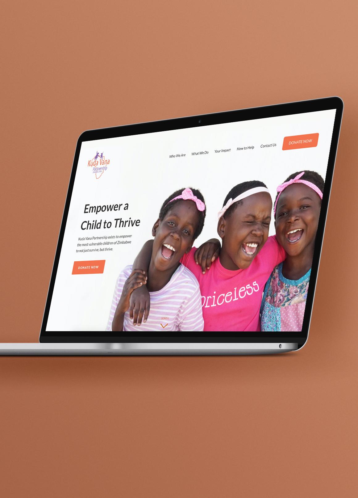 Kuda Vana Nonprofit Web Design